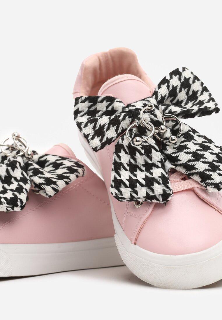 Różowe Buty Sportowe Young Lady