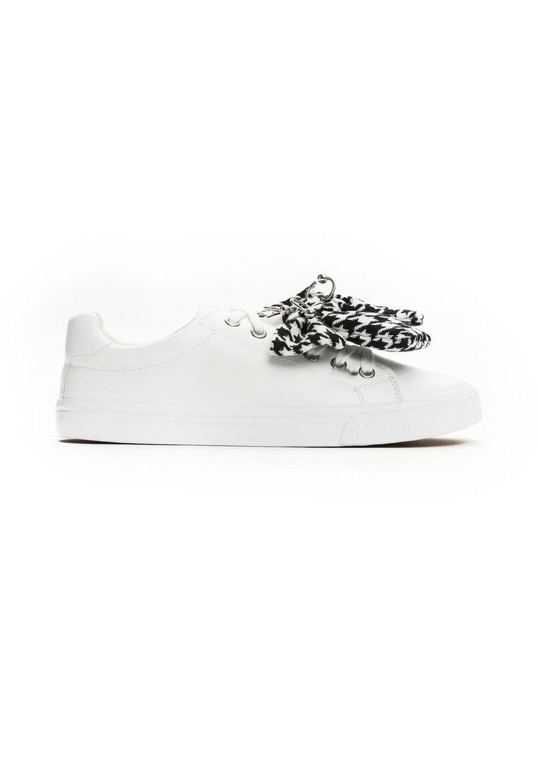 Białe Buty Sportowe Young Lady