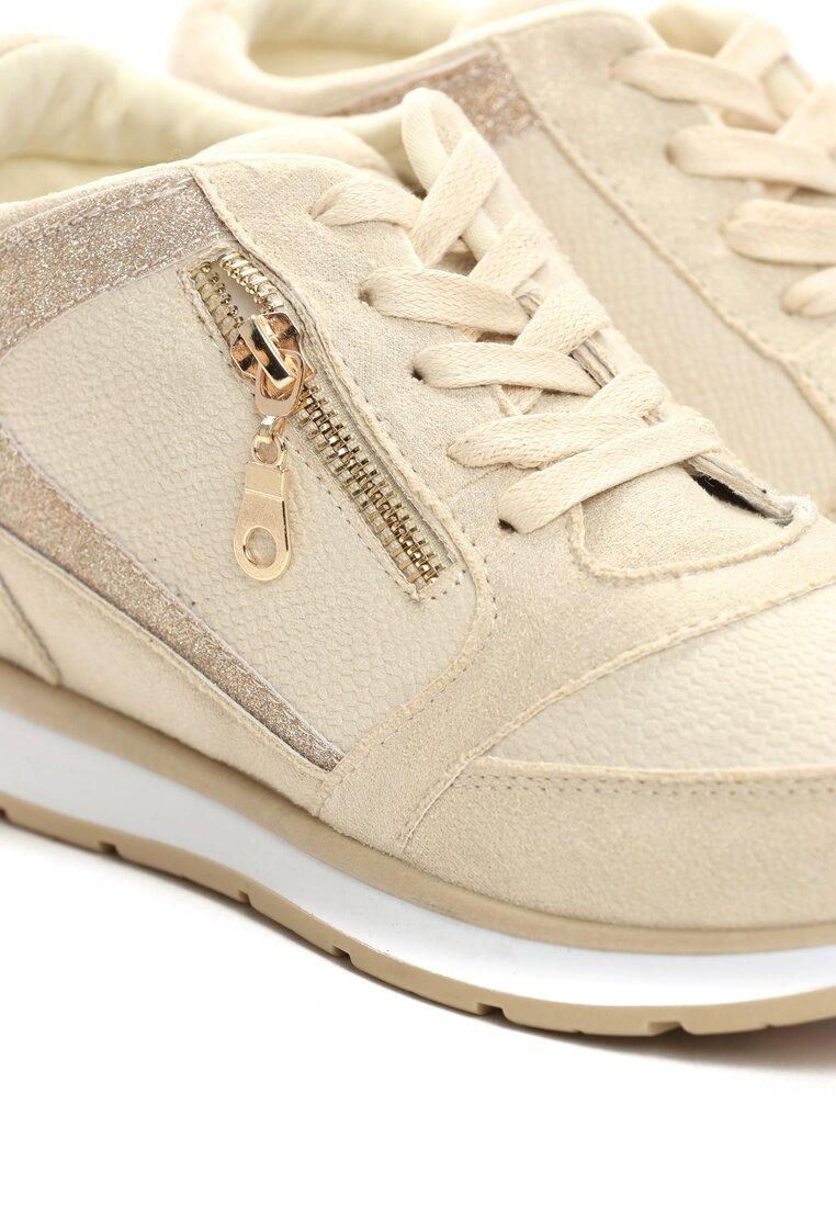 Beżowe Sneakersy I Surrender