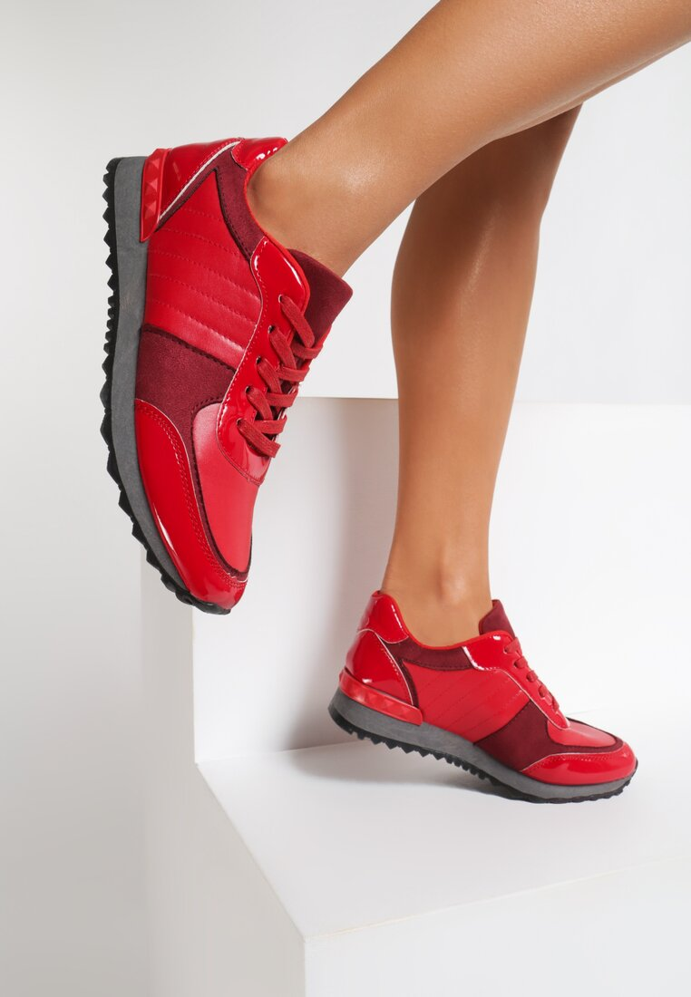 Czerwone Sneakersy All The Way