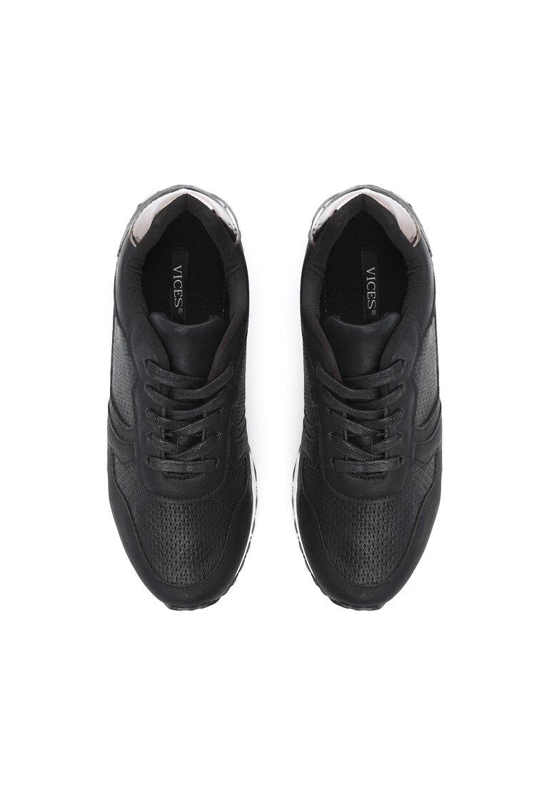 Czarne Buty Sportowe Day For Freedom