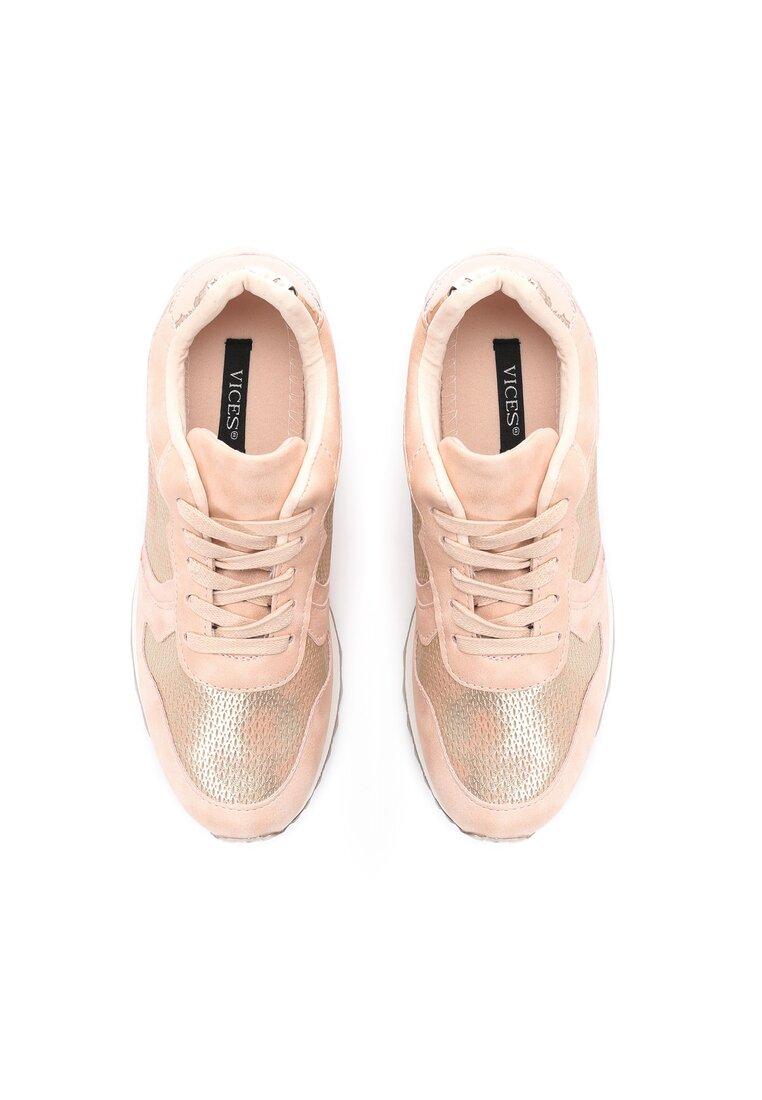 Różowe Buty Sportowe Day For Freedom