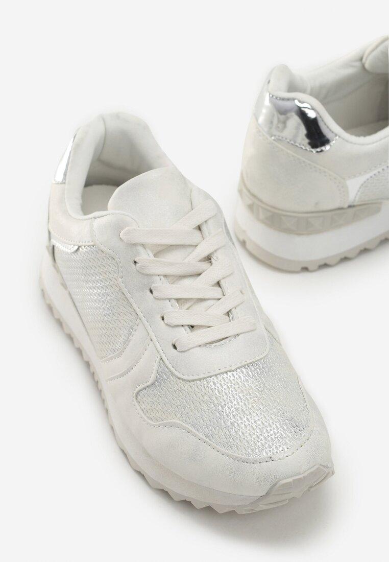 Białe Buty Sportowe Day For Freedom