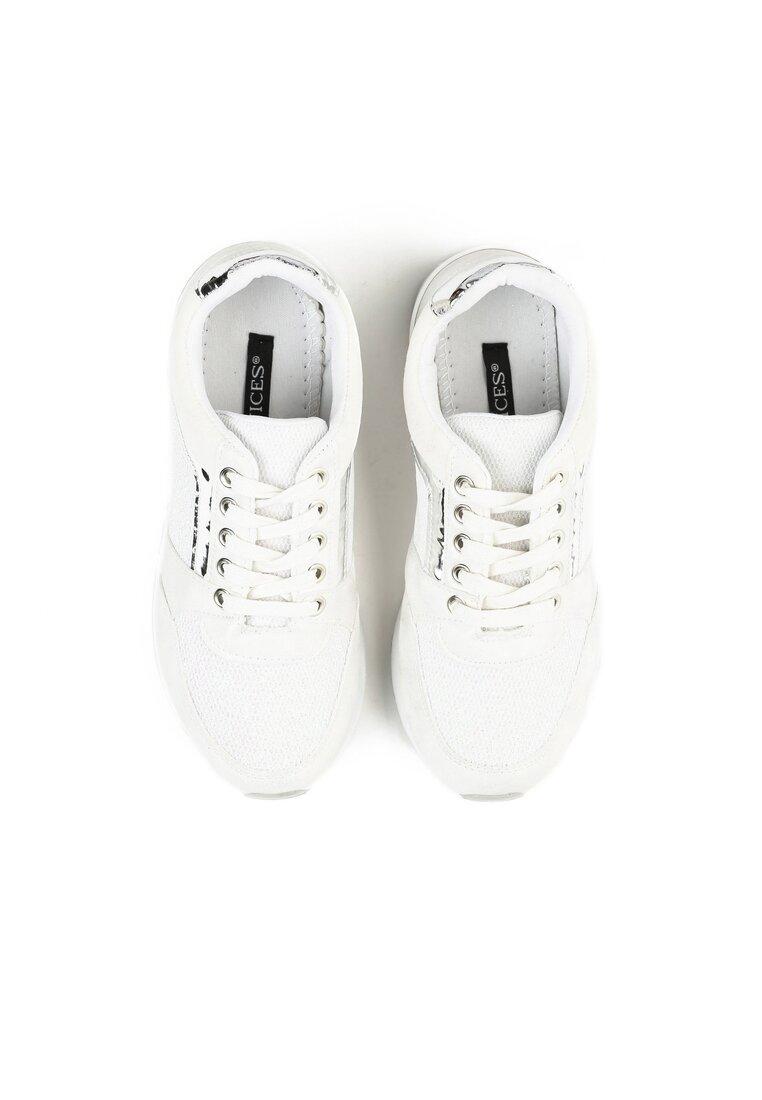 Białe Buty Sportowe Take A Chance