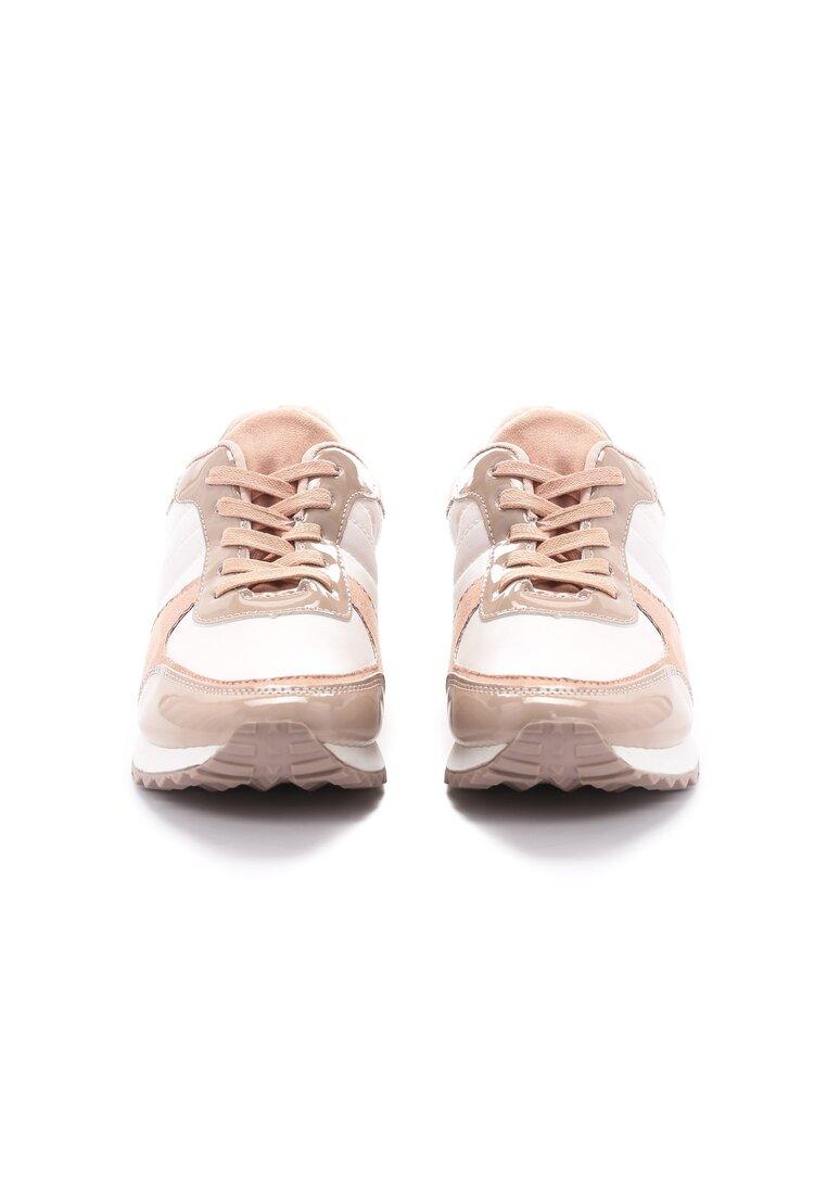 Różowe Sneakersy All The Way