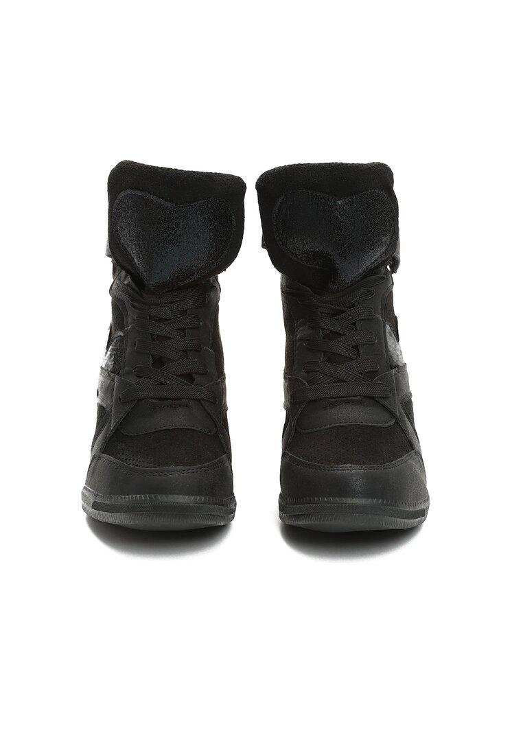 Czarne Sneakersy Fortunate