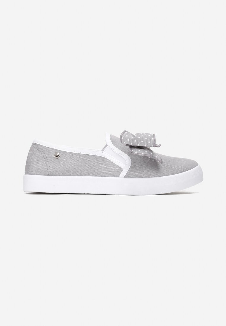 Szare Slip On Friends