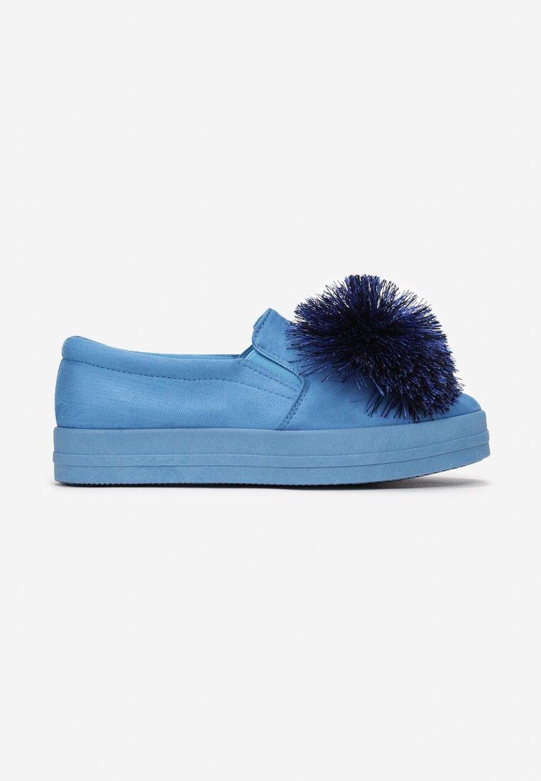 Niebieskie Slip On Already Over Me
