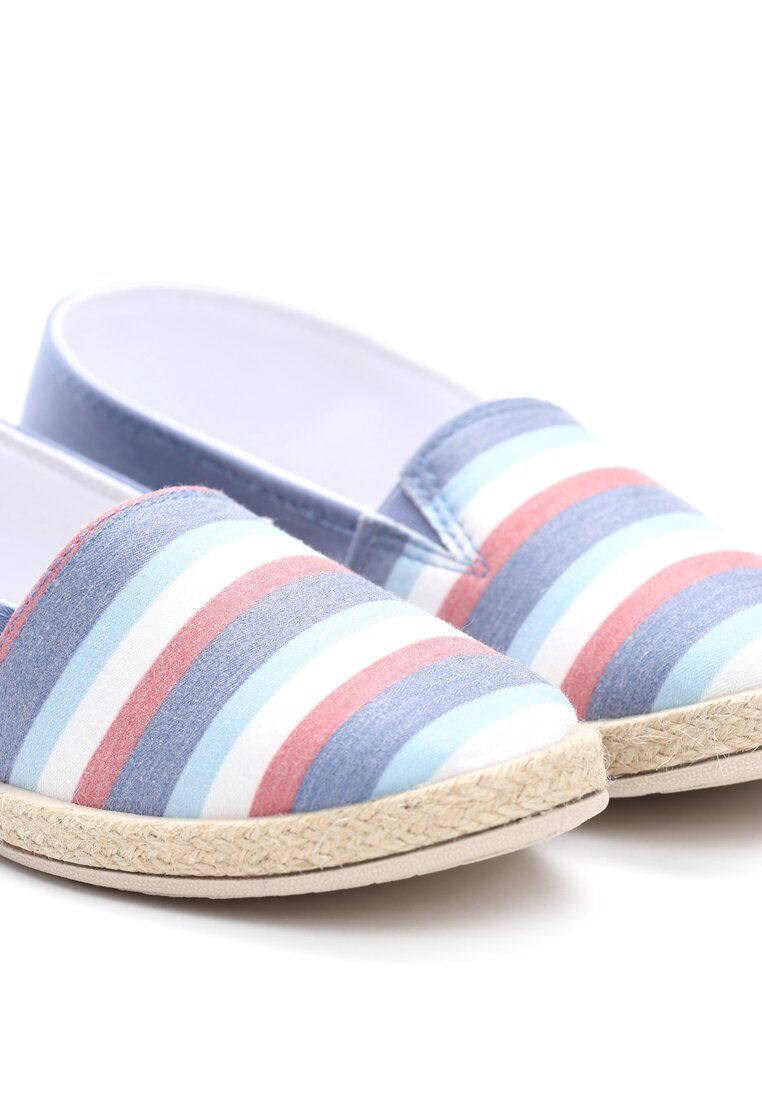 Niebieskie Espadryle Lie is Thief