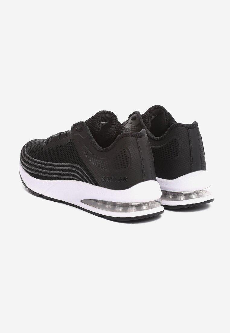 Czarne Sneakersy Seasons