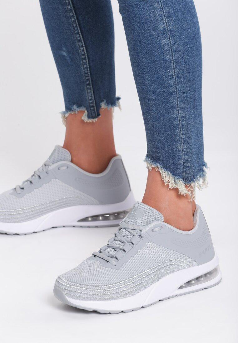 Srebrne Sneakersy Seasons