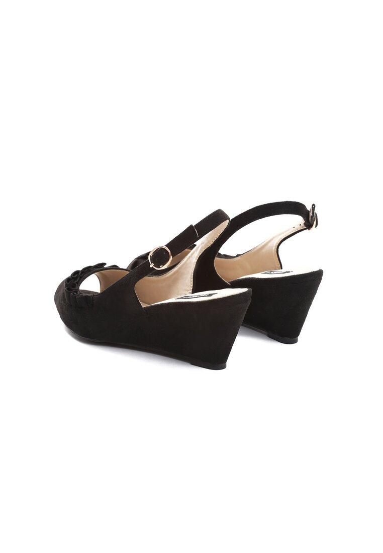 Czarne Sandały You Can Look