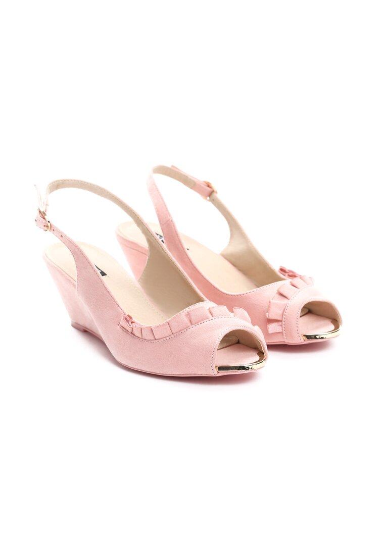 Różowe Sandały You Can Look