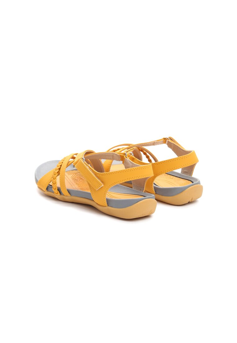 Żółte Sandały Swallow