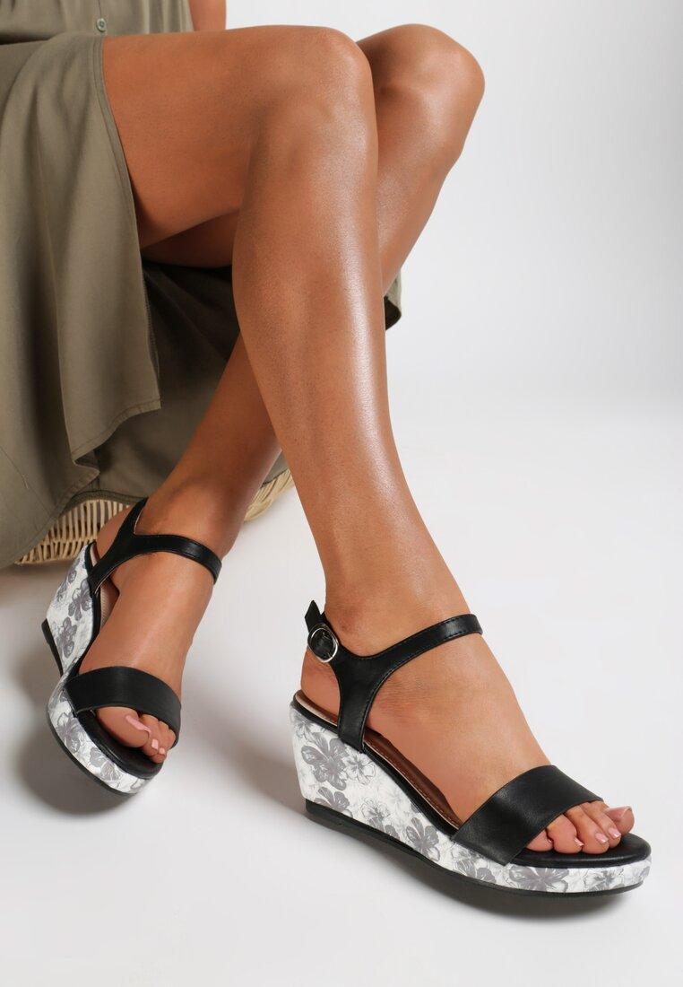 Czarne Sandały Little Things