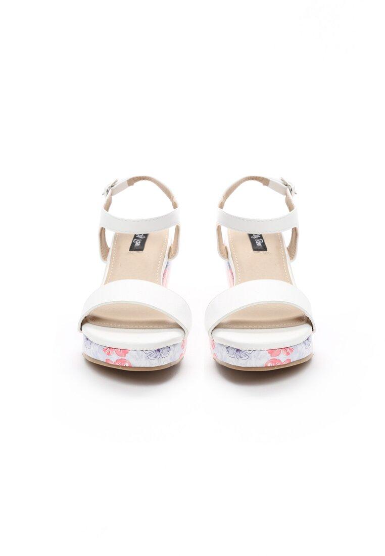 Biało-Czerwone Sandały Little Things