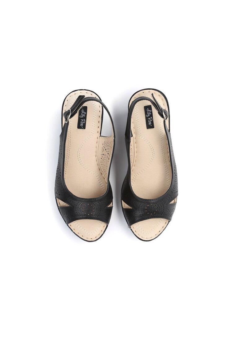 Czarne Sandały That High