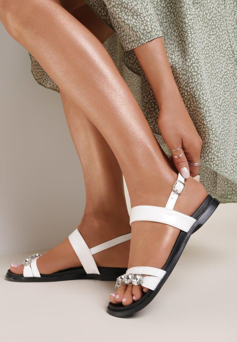 Białe Sandały Complete Shambles