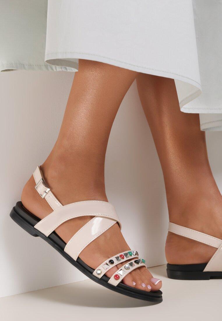 Beżowe Sandały Evergreen