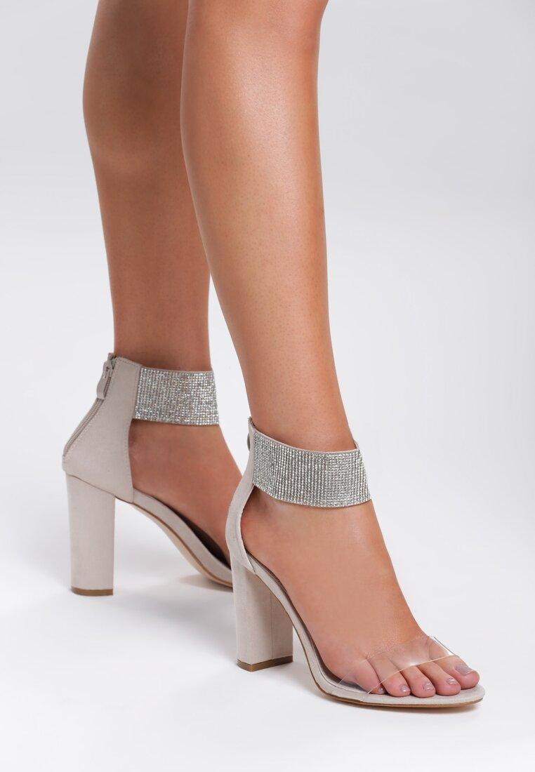 Beżowe Sandały Sophisticated