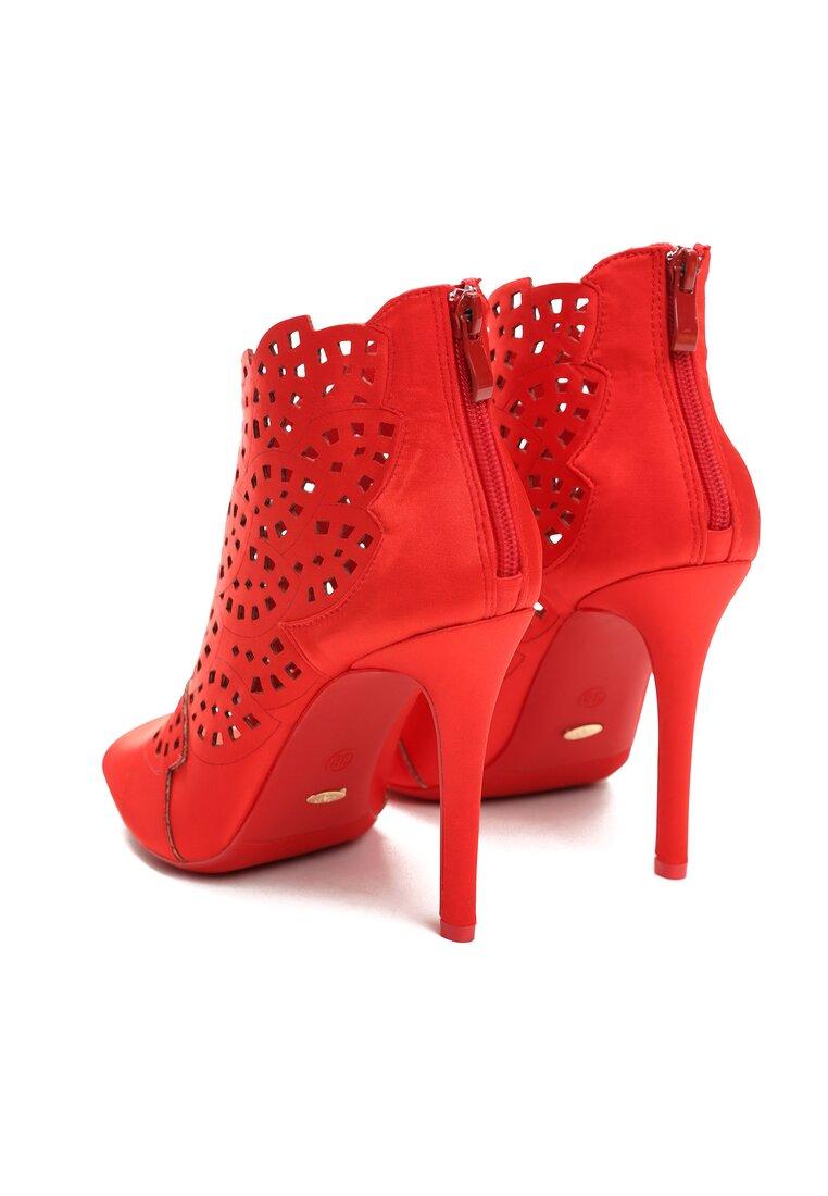 Czerwone Sandały You Look