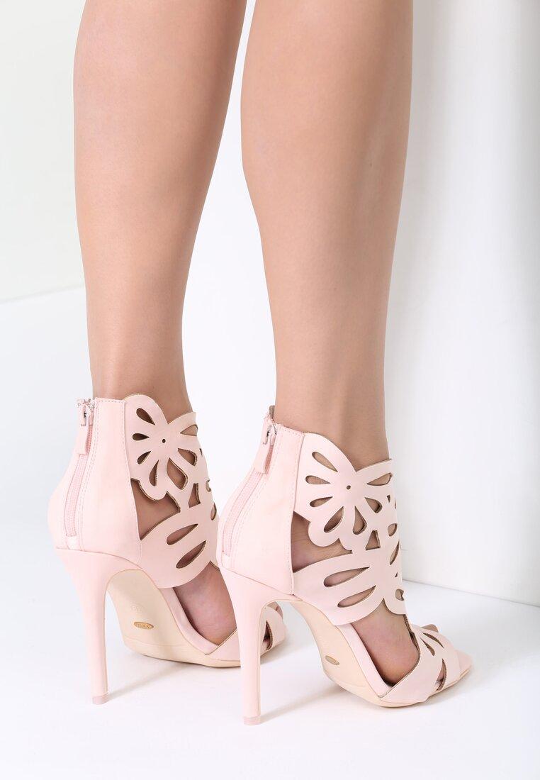 Różowe Sandały Sweet Sweet