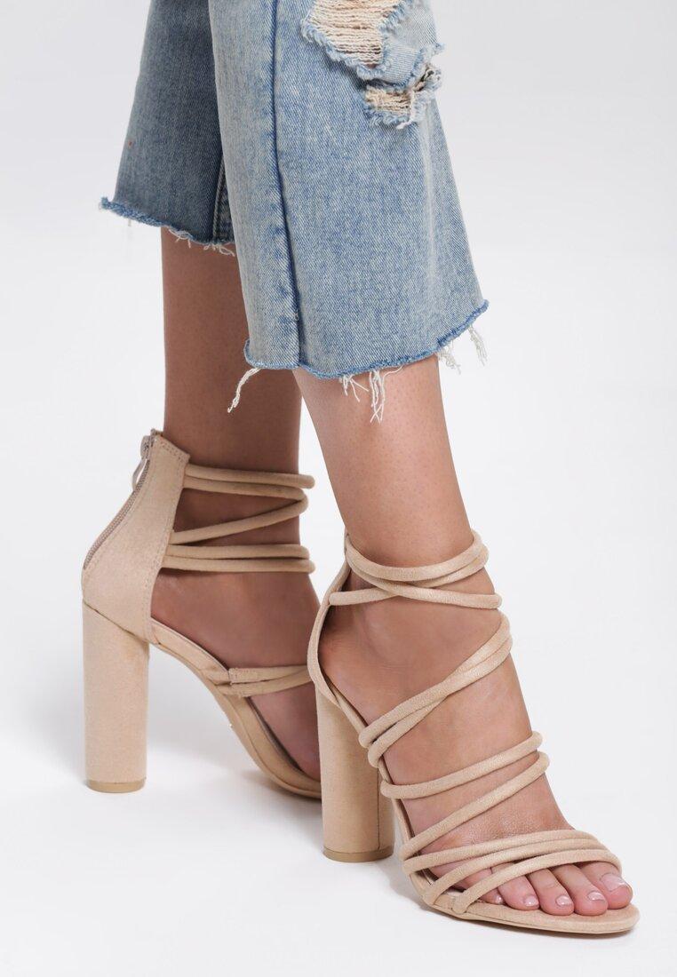 Beżowe Sandały More Than Friends