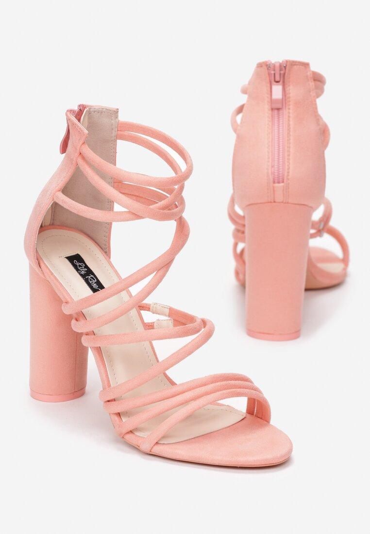 Różowe Sandały More Than Friends