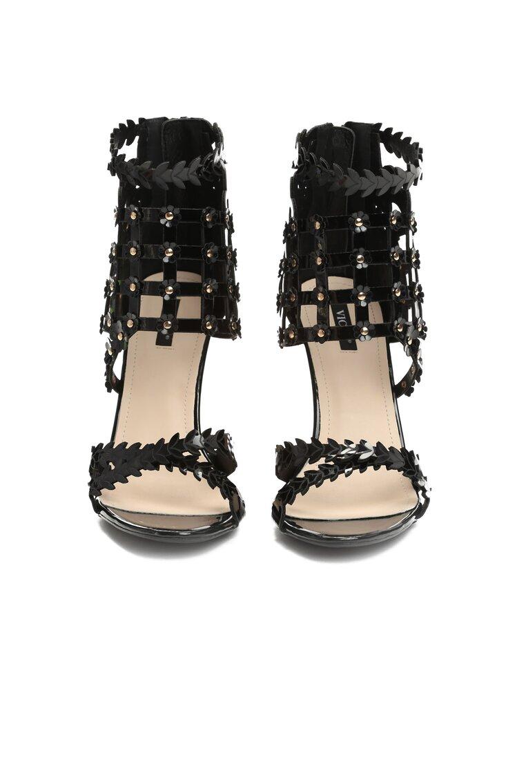 Czarne Sandały What I Feel?