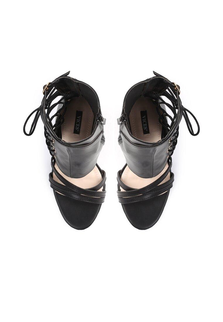 Czarne Sandały Patient Love