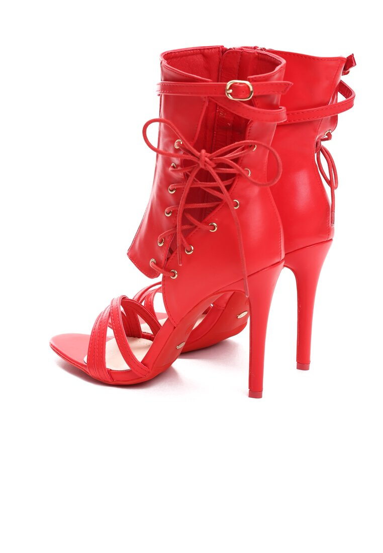 Czerwone Sandały Patient Love