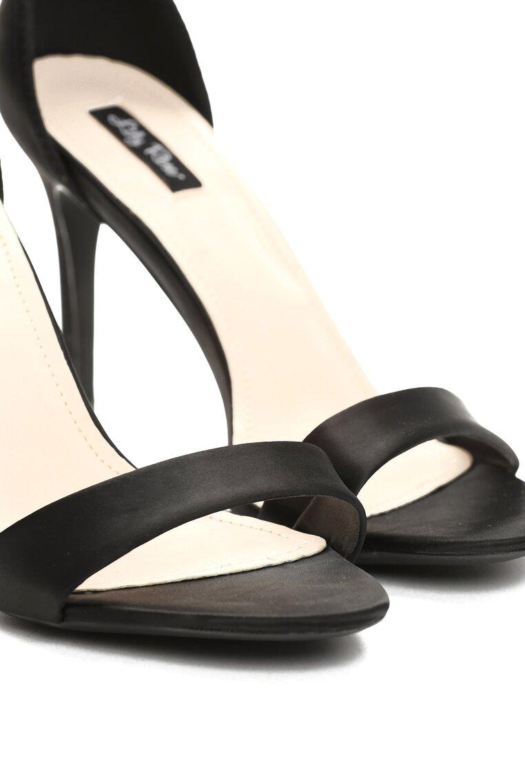 Czarne Sandały Somebody's Love