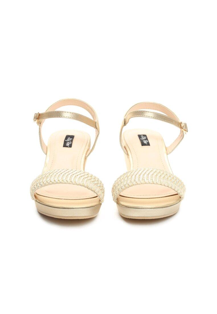 Złote Sandały Like I Do