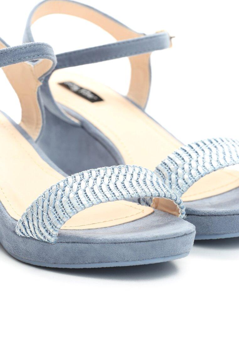 Niebieskie Sandały Like I Do