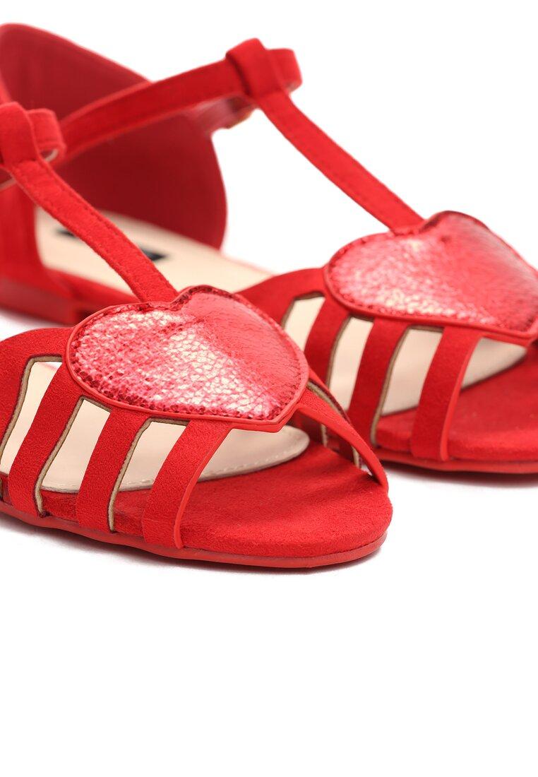 Czerwone Sandały Wild Enough