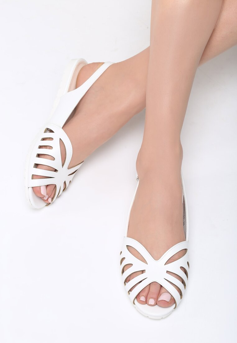 Białe Sandały Thundercloud