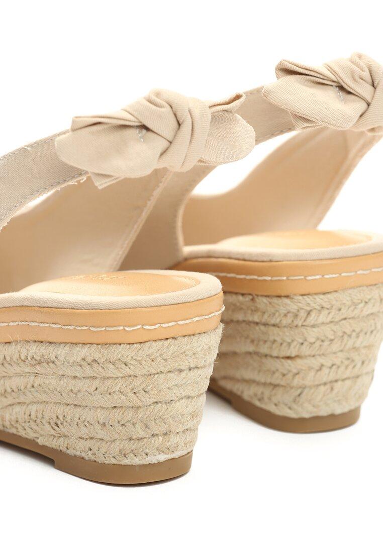 Beżowe Sandały Laying In The Sun