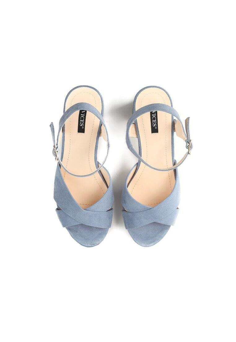 Niebieskie Sandały We Were Young
