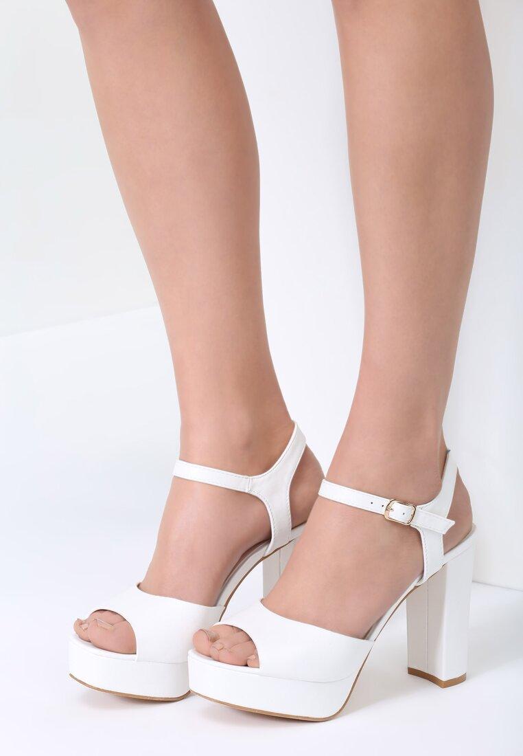 Białe Sandały What They Want