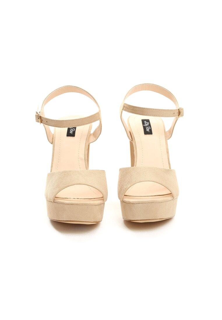 Beżowe Sandały What They Want