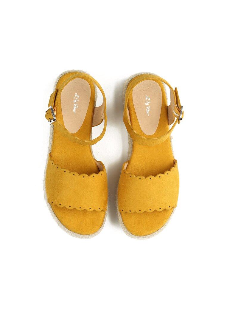 Żółte Sandały Toxic