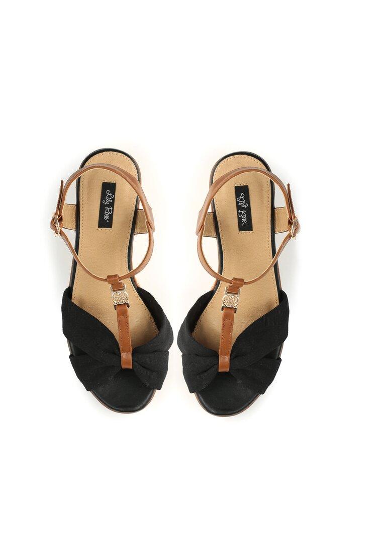 Czarne Sandały Got You