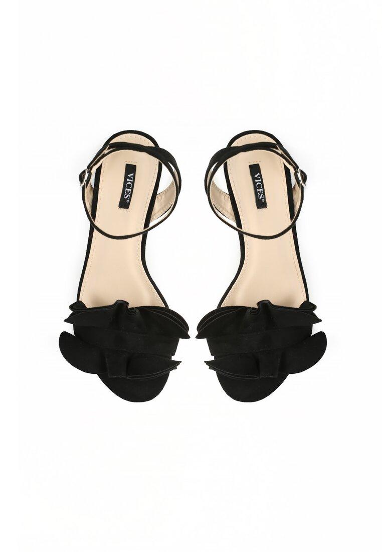 Czarne Sandały Tweet