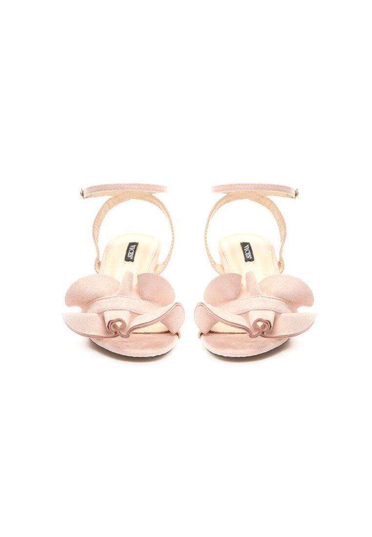 Różowe Sandały Tweet