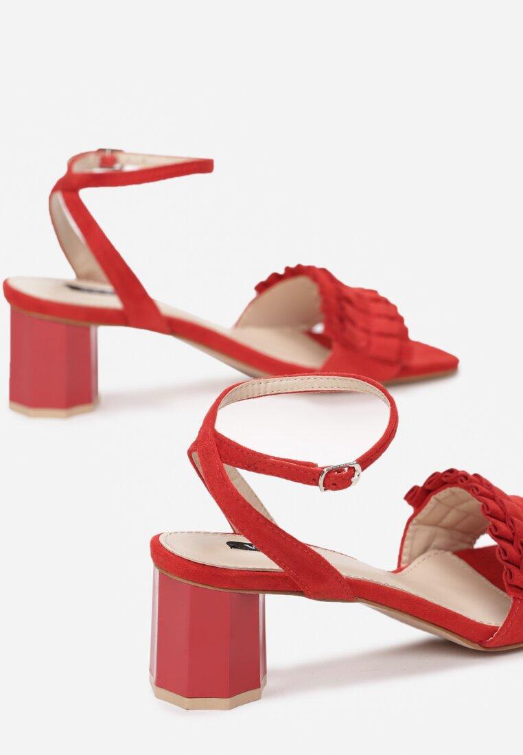 Czerwone Sandały Want Me Too
