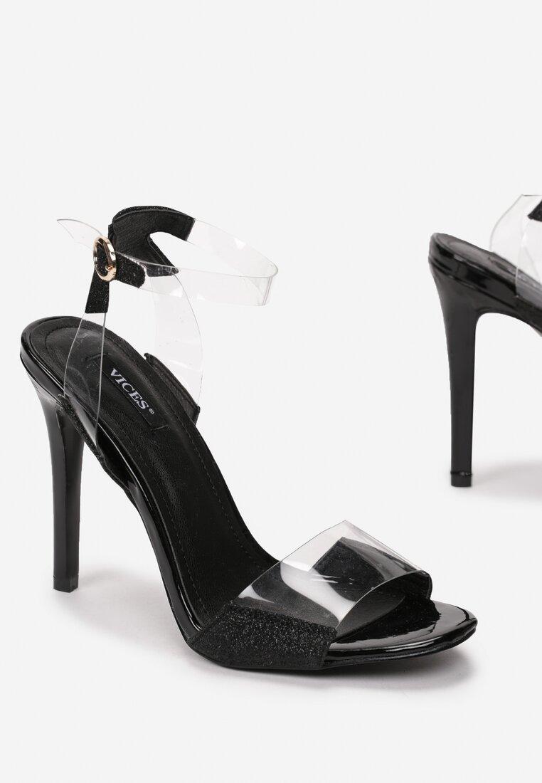 Czarne Sandały Eraser