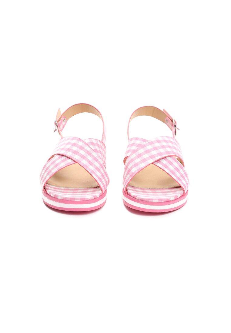 Różowe Sandały Pragmatic