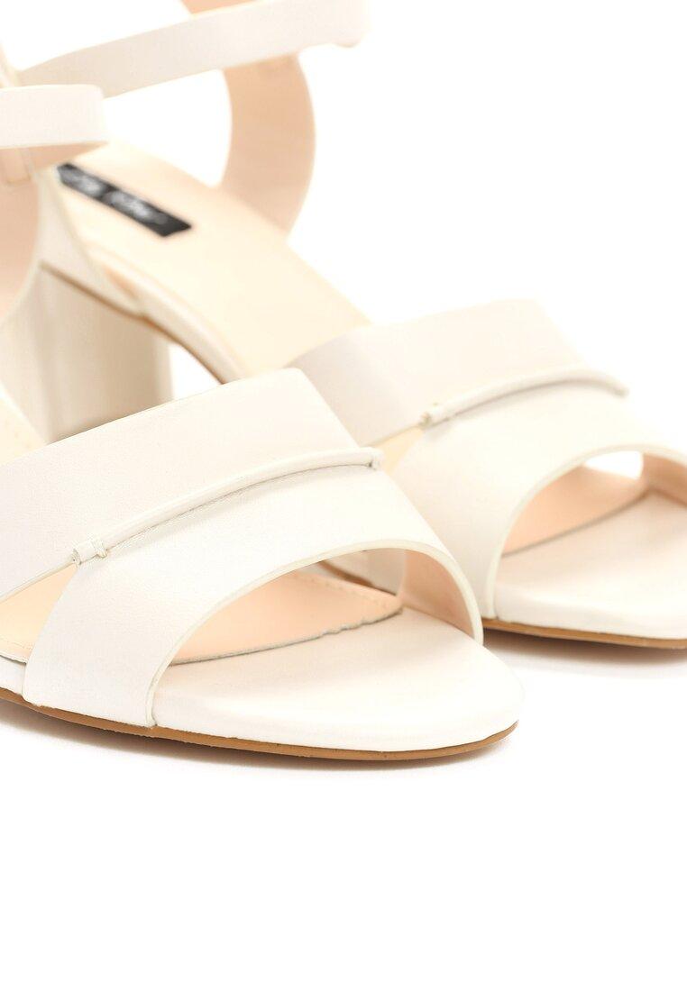 Białe Sandały Sweety Heart