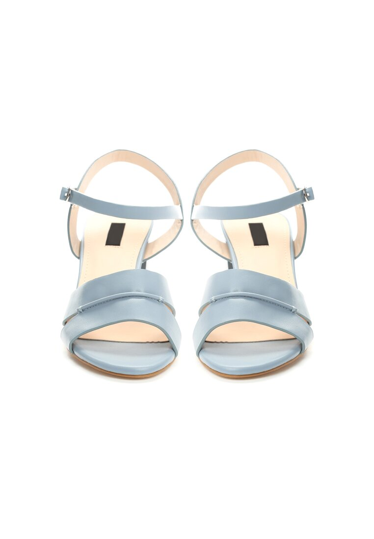 Niebieskie Sandały Sweety Heart