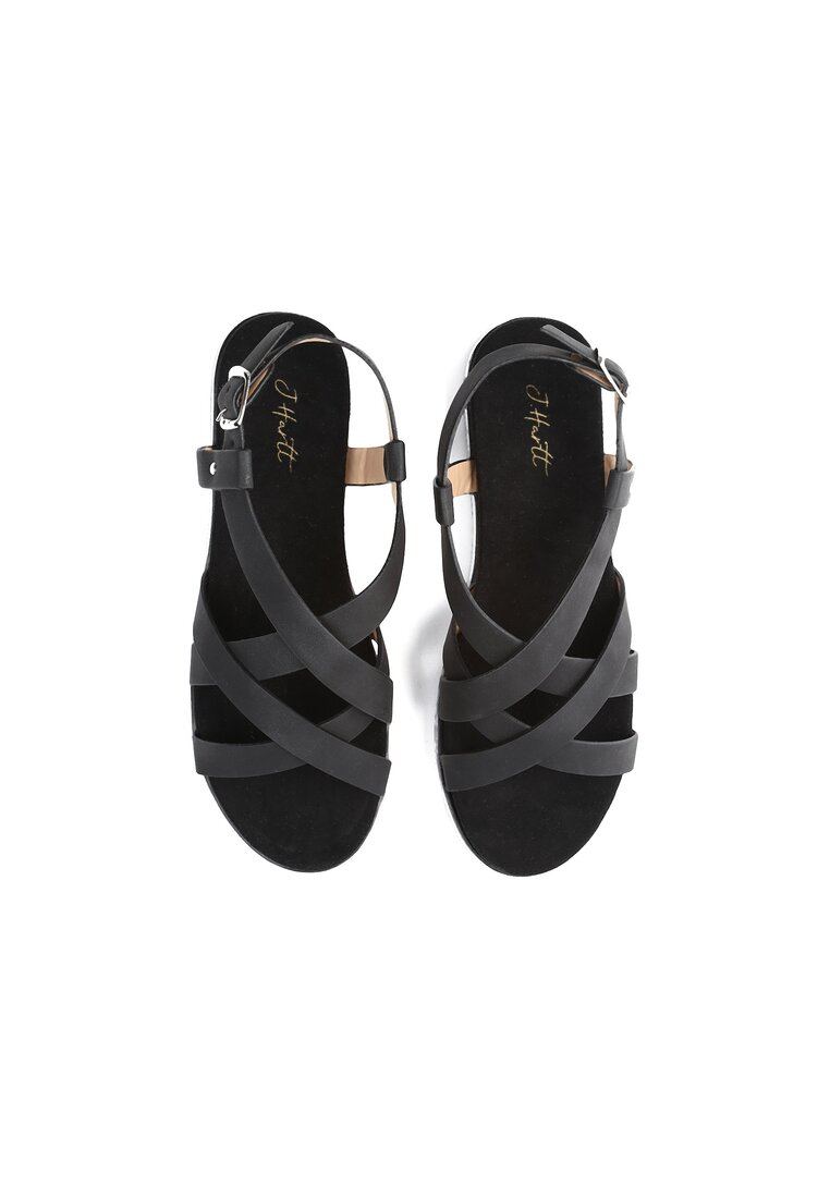 Czarne Sandały Lapwing